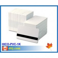 White 3 or 2 Track HiCo PVC (1000pc)