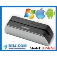 Mx6 - MSRx6 USB Powered Magnetic Card Reader Writer
